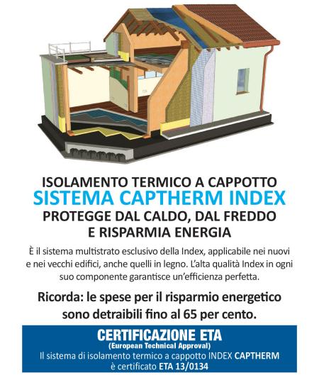 Capitolato per l'Isolamento termico delle facciate degli edifici - Index s.p.a.